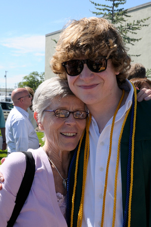 Proud grandmother and graduate